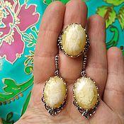 Украшения handmade. Livemaster - original item Hypoallergenic jewelry with stones of Russian production. Handmade.