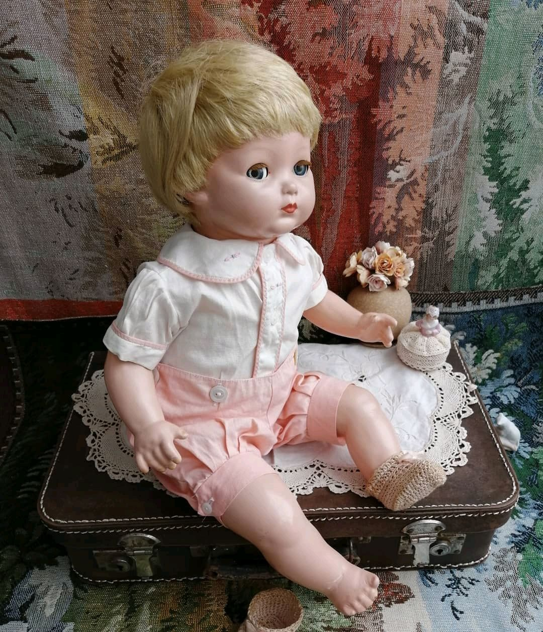 Американская композитная кукла Малыш Тони, Интерьерная кукла, Уфа,  Фото №1