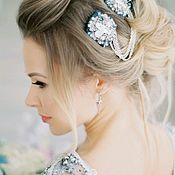 Свадебный салон ручной работы. Ярмарка Мастеров - ручная работа Комплект украшений на свадьбу. Handmade.