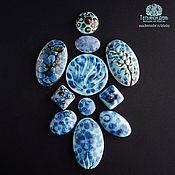 Материалы для творчества handmade. Livemaster - original item Sets of ceramic cabochons №24,25 and 30