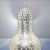Винтаж ручной работы. Ярмарка Мастеров - ручная работа Сахарница шейкер латунь серебрение Англия 17. Handmade.