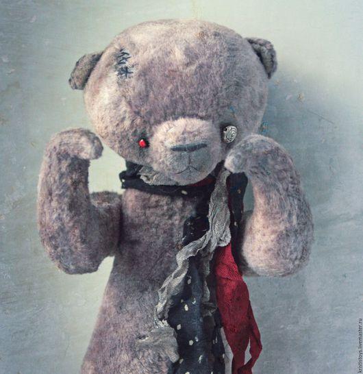 Мишки Тедди ручной работы. Ярмарка Мастеров - ручная работа. Купить Авторский Мишка тедди Монстрик. Ищет дом. Handmade.