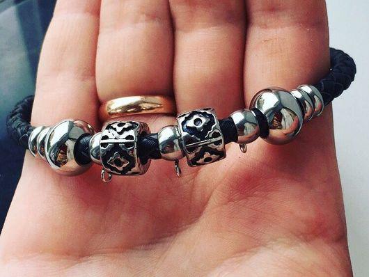 """Браслеты ручной работы. Ярмарка Мастеров - ручная работа. Купить Женский браслет по типу """"Pandora"""". Handmade. Pandora style"""