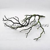 Материалы для творчества handmade. Livemaster - original item Branch decorative , CV 81. Handmade.