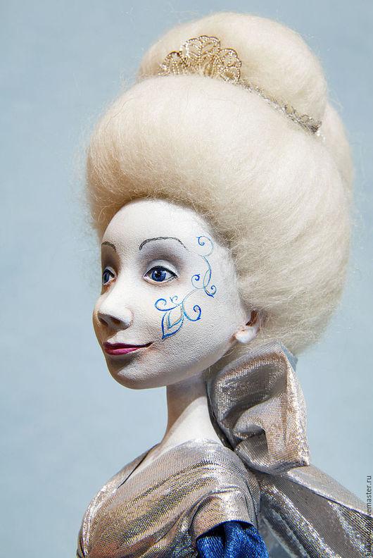 Коллекционные куклы ручной работы. Ярмарка Мастеров - ручная работа. Купить Интерьерная кукла Её Величество Зима. Handmade.