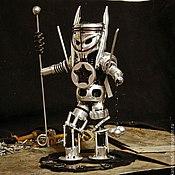 """Подарки к праздникам ручной работы. Ярмарка Мастеров - ручная работа Робот из металла """"Hord"""". Handmade."""