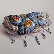 Украшения handmade. Livemaster - original item Necklace PRECIOUS BUDS swarovski, beads, GIMP. Handmade.