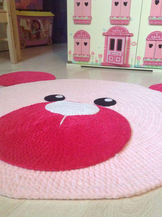 Детская ручной работы. Ярмарка Мастеров - ручная работа. Купить Плюшевый детский коврик, нежный коврик в детскую,коврик для фотосессий. Handmade.