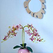 Растения ручной работы. Ярмарка Мастеров - ручная работа Композиция с орхидеей. Handmade.
