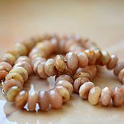 Украшения handmade. Livemaster - original item SOLAR STONE. beads. Handmade.