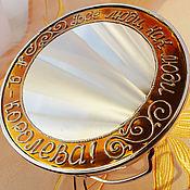 Для дома и интерьера ручной работы. Ярмарка Мастеров - ручная работа Зеркало для Королевы 1. Handmade.