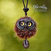 Украшения handmade. Livemaster - original item Owlet pendants and brooches. Handmade.