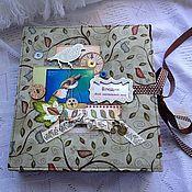 Канцелярские товары ручной работы. Ярмарка Мастеров - ручная работа Фотоальбом для мальчика. Handmade.