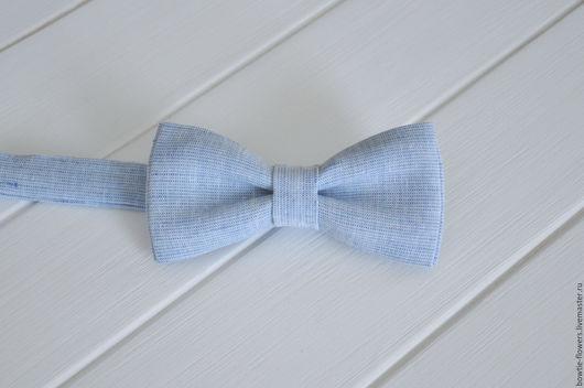 Галстук бабочка льняная, галстук бабочка из льна, бабочка-галстук рустик, бабочка галстук в стиле рустик, галстук-бабочка Москва, галстук-бабочка на свадьбу