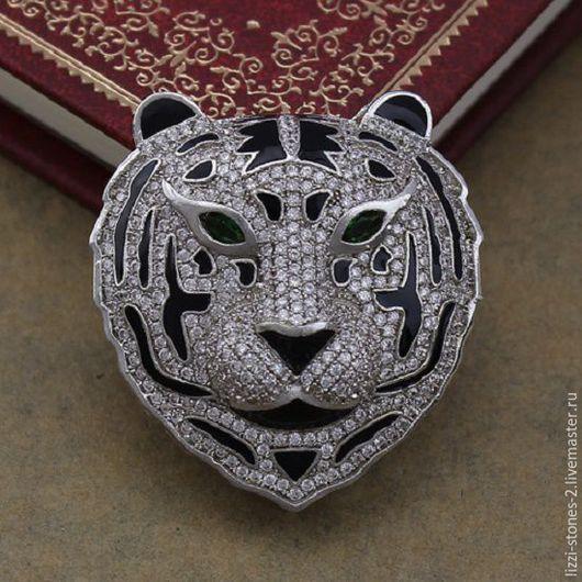 Коннектор Тигр серебро (Milano) Евгения (Lizzi-stones-2)