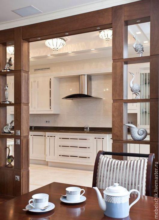 шкаф, стеллаж, мебель из дерева для гостиной, кухни-столовой