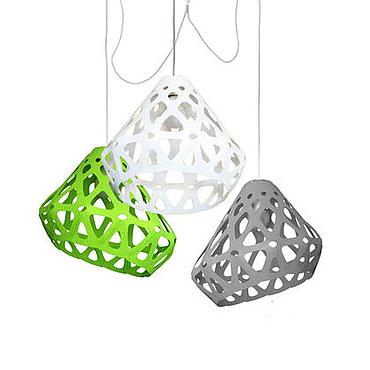 Для дома и интерьера ручной работы. Ярмарка Мастеров - ручная работа ZAHA LIGHT трехцветная трехрожковая люстра 9. Handmade.