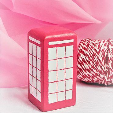 Сувениры и подарки ручной работы. Ярмарка Мастеров - ручная работа Модели: Телефонная будка. Handmade.