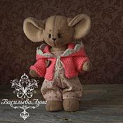 Куклы и игрушки ручной работы. Ярмарка Мастеров - ручная работа Мышка Мисси. Handmade.