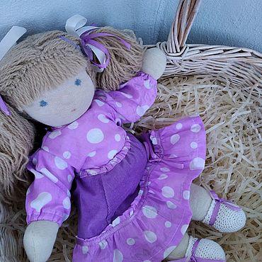 Куклы и игрушки ручной работы. Ярмарка Мастеров - ручная работа Вальдорфская кукла 39см. Handmade.