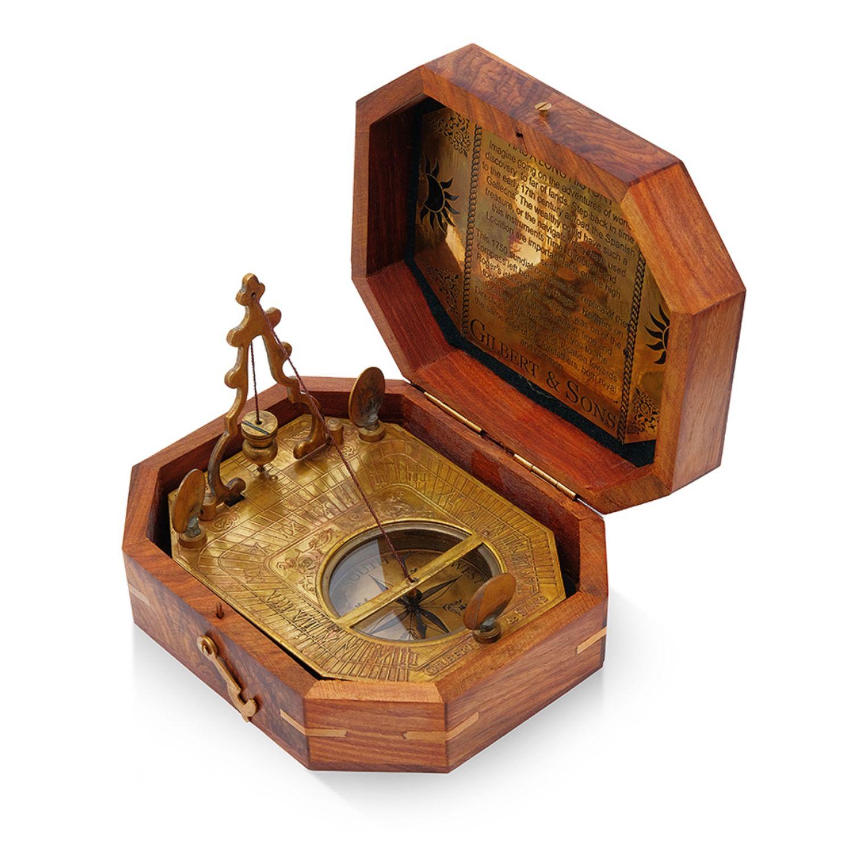 Старинный компас с маятником  и солнечными часами, Именные сувениры, Москва,  Фото №1