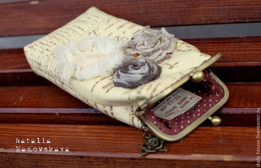 """Футляры, очечники ручной работы. Ярмарка Мастеров - ручная работа. Купить Футляр для очков (очечник) """"Письма любви. PS..."""". Handmade."""