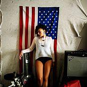 Одежда ручной работы. Ярмарка Мастеров - ручная работа Джемпер из коллекции  Born young and free .... Handmade.