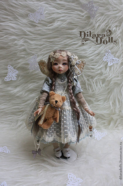 Куклы смешанная техника мастер класс
