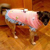 Для домашних животных, ручной работы. Ярмарка Мастеров - ручная работа Попона для собаки. Handmade.