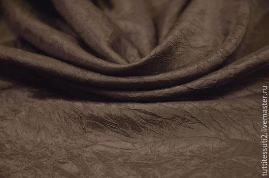 Шитье ручной работы. Ярмарка Мастеров - ручная работа. Купить Подкладочная ткань 11-300-0095. Handmade. Коричневый, ацетат