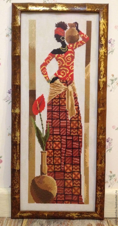 Вышивка крестом диптих