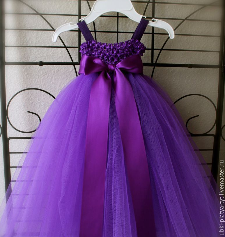 Платье туту своими руками
