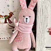 Куклы и игрушки handmade. Livemaster - original item Tweed bunny is a soft toy. Handmade.