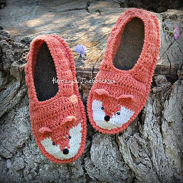 Footwear handmade. Livemaster - original item Slippers