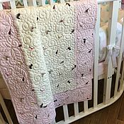 Для дома и интерьера handmade. Livemaster - original item Baby Quilt Patchwork Quilt Bedspread. Handmade.