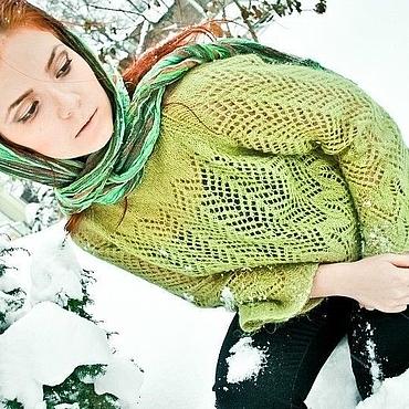 """Одежда ручной работы. Ярмарка Мастеров - ручная работа Пуловер """"Липовый цвет"""". Handmade."""