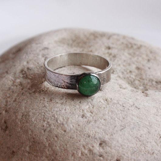 """Кольца ручной работы. Ярмарка Мастеров - ручная работа. Купить Кольцо """"Salvia"""". Изумруд, серебро.. Handmade. Зеленый, изумруд натуральный"""