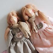 Куклы и игрушки ручной работы. Ярмарка Мастеров - ручная работа Тильда Сестры Кошечкины. Handmade.