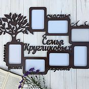 Сувениры и подарки handmade. Livemaster - original item Family Photo Frame