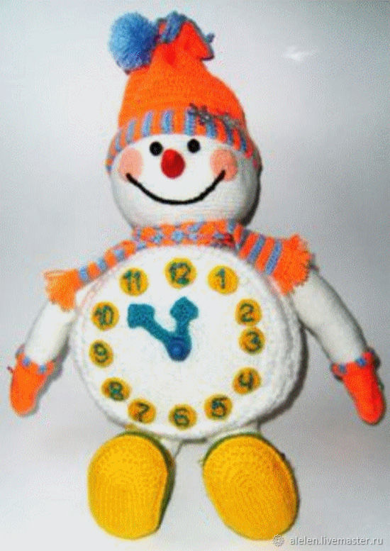 Снеговик-упаковка для подарка. Мастер-класс по вязанию крючком, Материалы для творчества, Заволжье, Фото №1