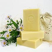 """Мыло ручной работы. Ярмарка Мастеров - ручная работа """"Молочное"""" натуральное мыло. Handmade."""