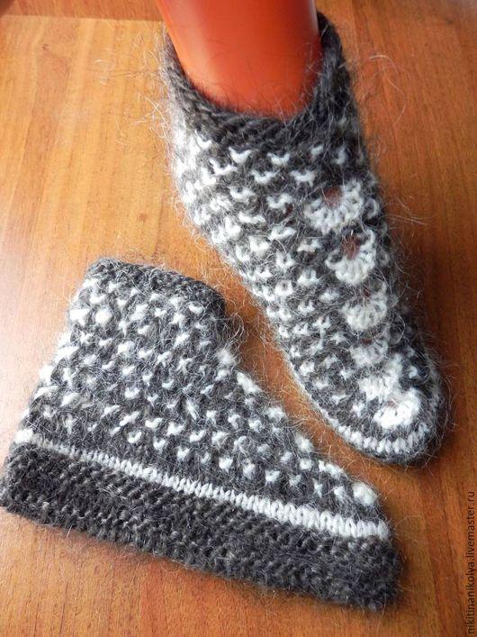 """Носки, Чулки ручной работы. Ярмарка Мастеров - ручная работа. Купить """"Для нас, девочек!"""" следки-тапочки. Handmade. носочки"""