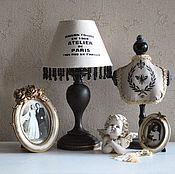 Для дома и интерьера ручной работы. Ярмарка Мастеров - ручная работа Parisienne лампа. Handmade.