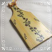 Русский стиль handmade. Livemaster - original item Cutting Board decoupage. Handmade.