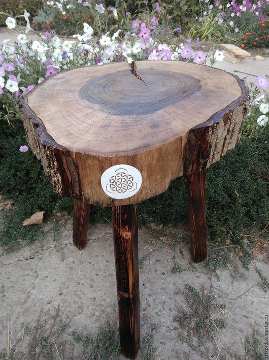 Мебель ручной работы. Ярмарка Мастеров - ручная работа. Купить Столик. Handmade. Рустик стиль, столик из дерева, лиственница