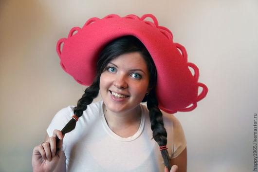 """Детские карнавальные костюмы ручной работы. Ярмарка Мастеров - ручная работа. Купить """"Красная шапочка"""" из поролона. Handmade. Ярко-красный"""
