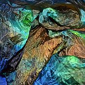 Аксессуары handmade. Livemaster - original item Scarf stole female silk colorful bright gift to a woman. Handmade.