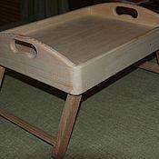 Для дома и интерьера handmade. Livemaster - original item tray on legs. Handmade.
