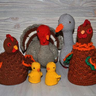 Куклы и игрушки ручной работы. Ярмарка Мастеров - ручная работа Птичий двор вязаные игрушки. Handmade.
