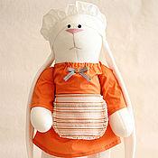 Куклы и игрушки ручной работы. Ярмарка Мастеров - ручная работа Зайка «Повар» (рост 70 см ). Handmade.